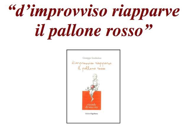 """Giuseppe Semboloni presenta il libro """"D'improvviso riapparve il pallone rosso"""""""