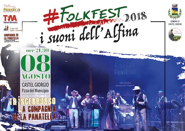 #FolkFest2018 continua con La Compagnia de La Panatella