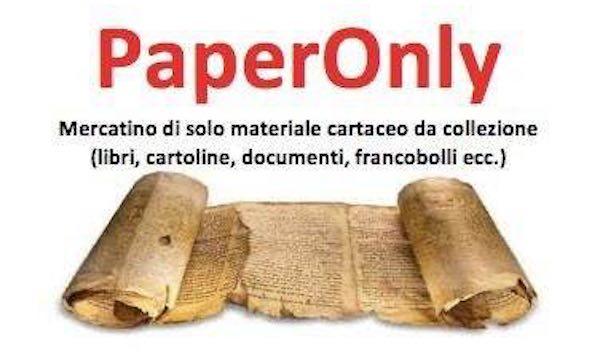 """Torna """"PaperOnly"""", il mercatino specializzato di materiale cartaceo da collezionismo"""