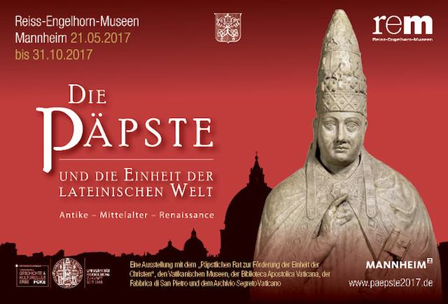 "La statua di Bonifacio VIII vola al ""Reiss Engelhorn Museen"" di Mannheim"