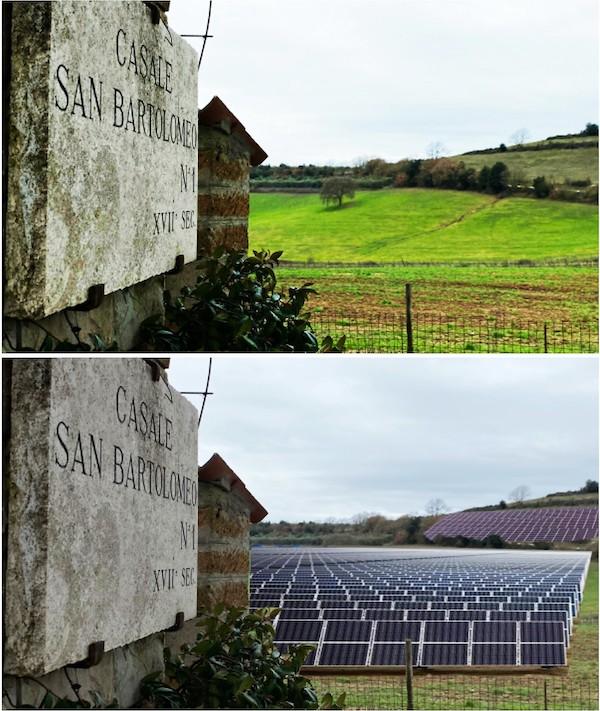 I sindaci di Ficulle, Parrano e San Venanzo contro l'impianto fotovoltaico sulle pendici del Peglia