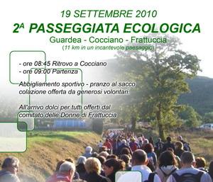 2a passeggiata ecologica Guardea - Cocciano - Frattuccia: 11km di percorso immersi nella natura