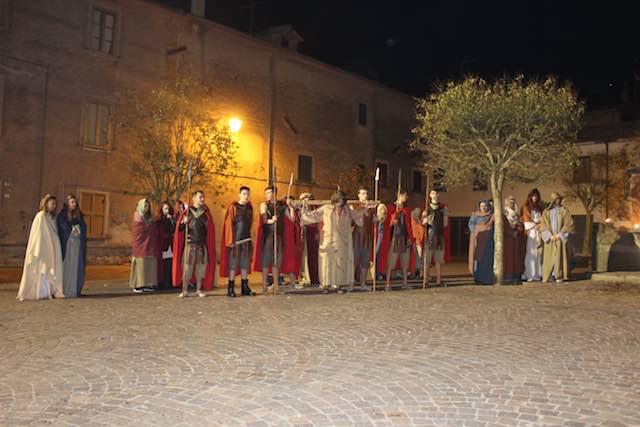 La Sacra Rappresentazione conclude le celebrazioni pasquali