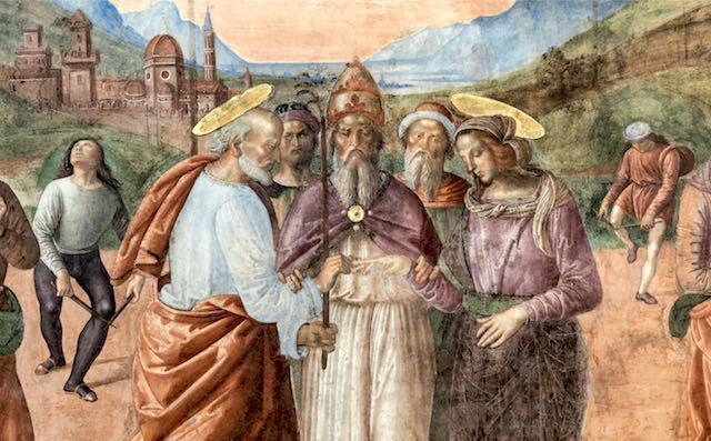 Gli affreschi restaurati del Pastura, i progetti nel nome di Livio Orazio Valentini
