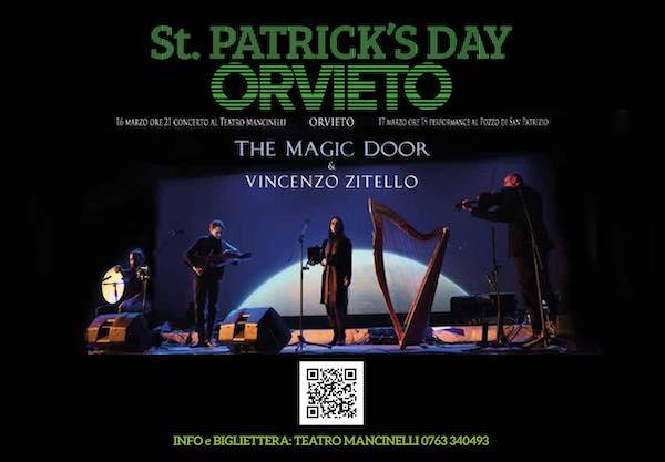 Per St.Patrick's Day al Mancinelli, il suono armonioso dell'arpa celtica