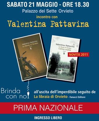 """Un brindisi con Valentina Pattavina.""""La libraia di Orvieto"""" torna sulle Rupe...con un nuovo romanzo"""