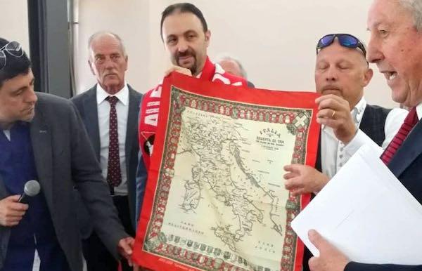 Firmato il patto d'amicizia tra Lugnano in Teverina e Alleghe