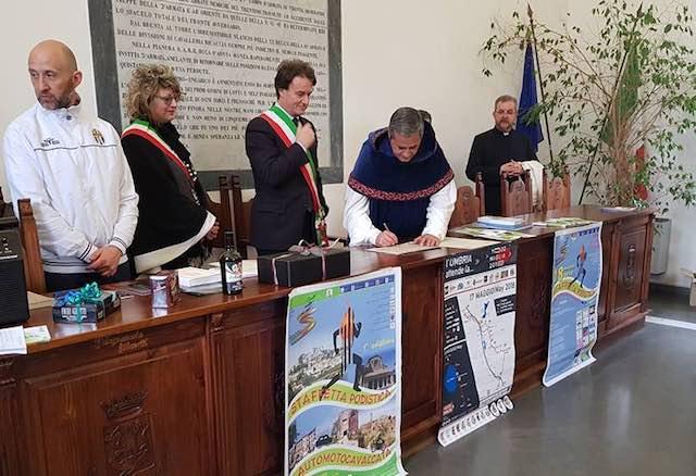 Sinergie fra territori, firmato il Patto d'Amicizia tra Bagnoregio e Amelia