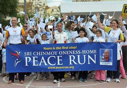 """""""Peace Run 2015"""". Il 25 aprile fa tappa a Orvieto la staffetta podistica internazionale per la pace"""