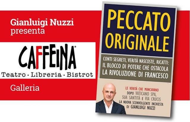 """Gianluigi Nuzzi presenta il libro-inchiesta """"Peccato Originale"""""""