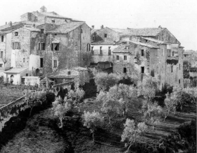 Via Pecorelli - Porta Vivaria, ieri