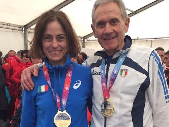 Europei Master Indoor, tris d'oro per Pelliccia