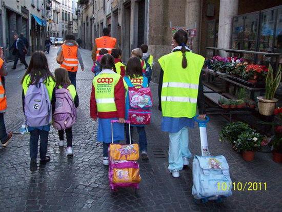 A Orvieto torna puntuale il Pedibus