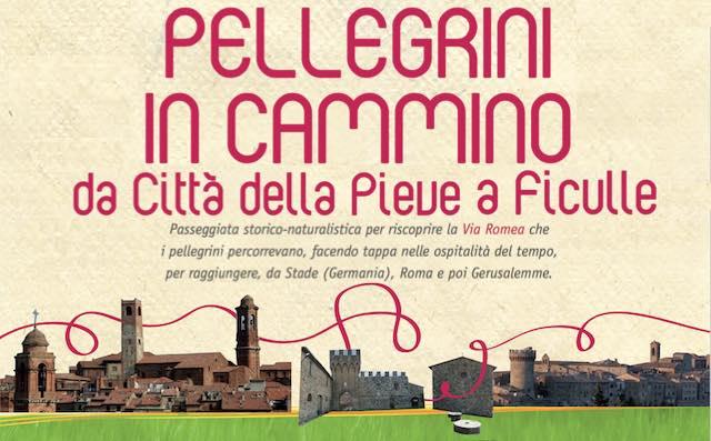 """""""Pellegrini in cammino: da Città della Pieve a Ficulle"""", lungo la Via Romea Germanica"""