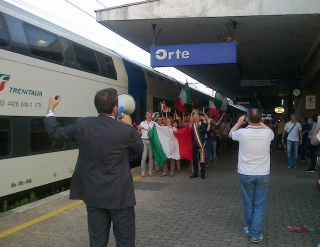 """Il Comitato Pendolari Orte e """"il viaggio della speranza"""""""