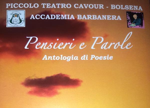 Poesia e musica al Piccolo Teatro Cavour con il recital dell'Accademia Barbanera