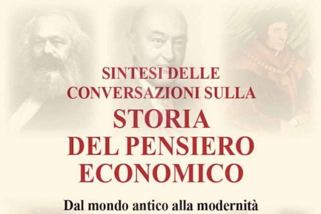 """Aldo Sorci presenta il libro """"Conversazioni sulla storia del pensiero economico"""""""