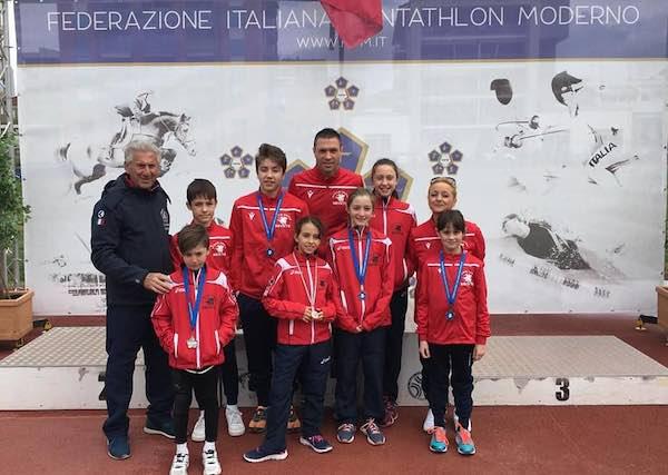 Asd Pertica Orvieto protagonista al Trofeo di Pentathlon Moderno