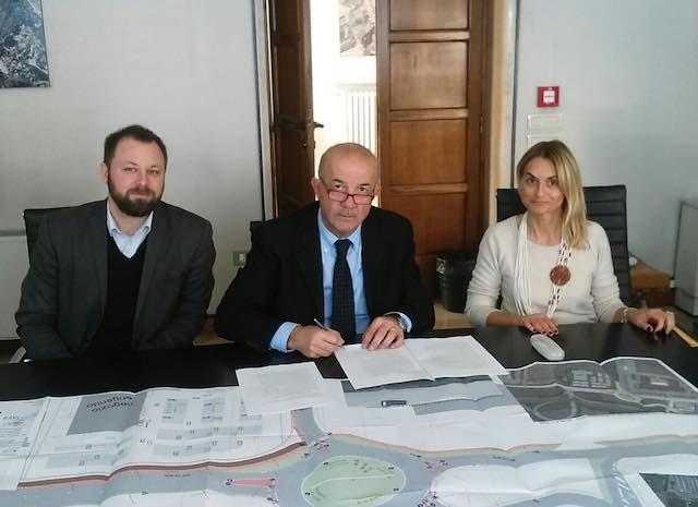 Firmato l'accordo di programma per il nuovo svincolo in uscita dal raccordo Perugia - Bettolle