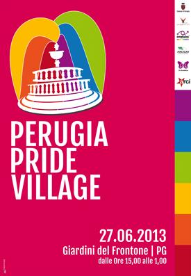 L'assessore Vinti aderisce alla manifestazione Perugia Pride Village