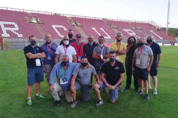 Tre peruginidietro le immagini televisive del Perugia in Serie B
