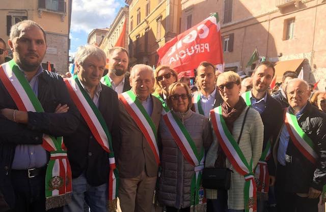 """""""Noi difendiamo la Perugina"""". Assemblea a Palazzo della Corgna"""