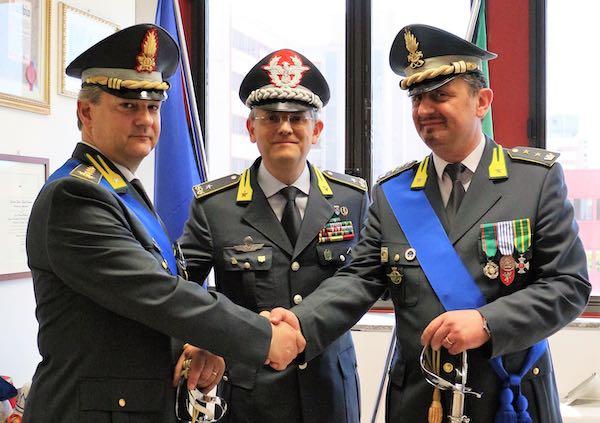 Il colonnello Livio Petralia è il nuovo comandante provinciale della Guardia di Finanza