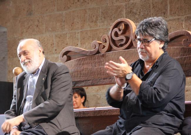 Orvieto a lezione di felicità da Luis Sepúlveda e Carlo Petrini