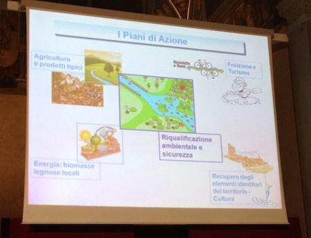 Presentato a Firenze il contratto di fiume del Paglia