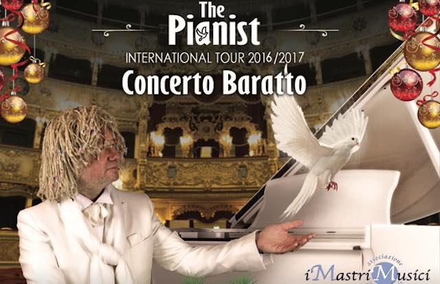 Concerto Baratto per la Caritas. Maurizio Mastrini al Teatro degli Avvaloranti