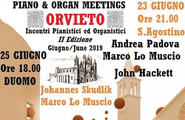 """Seconda edizione per """"Piano and Organ Meetings in Orvieto"""""""
