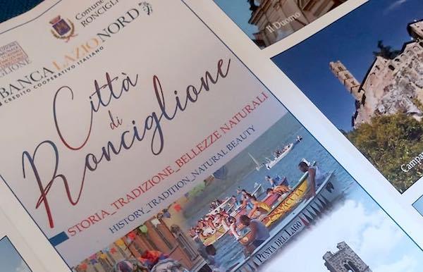 """Nuova piantina turistica """"Città di Ronciglione. Storia, tradizione, bellezze naturali"""""""