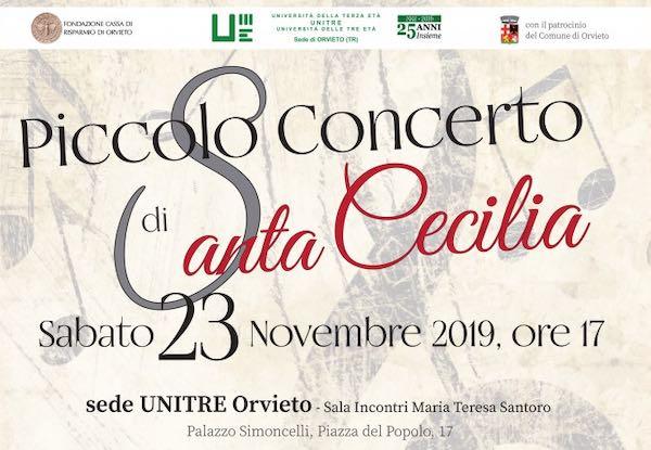 """I Bartender all'Unitre per il """"Piccolo Concerto di Santa Cecilia"""""""