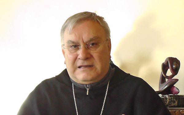 Monsignor Giuseppe Piemontese ricoverato all'Ospedale di Terni