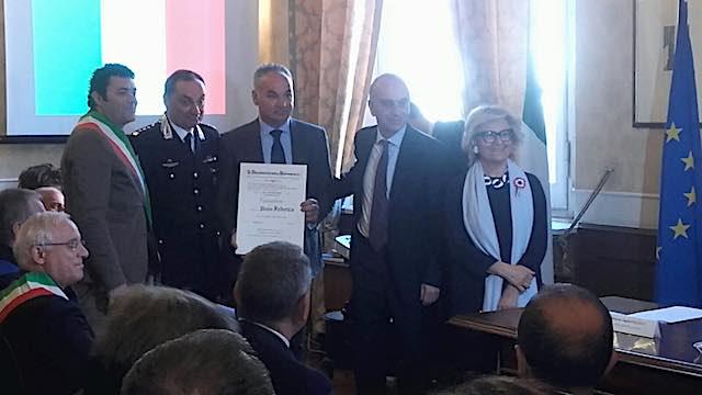 """""""Medaglie al Merito"""" in Prefettura, tra gli insigniti c'è anche Pietro Federico"""