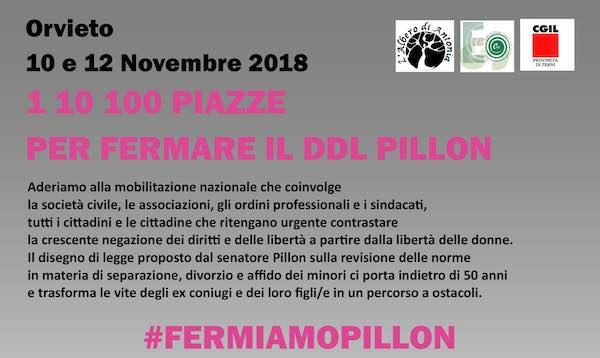 """Mobilitazione a Orvieto per fermare il Ddl Pillon. Banchetti informativi e film """"L'Affido"""""""