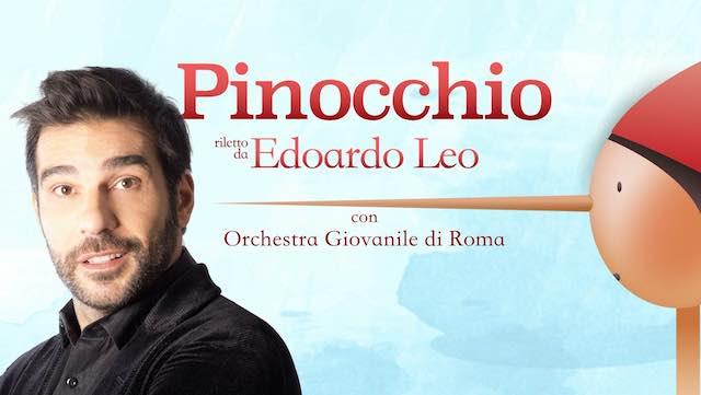 """Dopo Sanremo, Edoardo Leo porta in teatro """"Pinocchio. Una Favola in Musica"""""""
