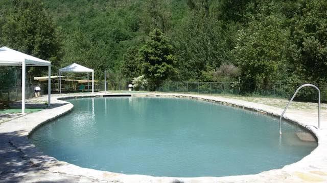 Al parco termale torna la festa dell 39 acqua gialli e riti a bordo piscina - Acqua orecchie piscina ...