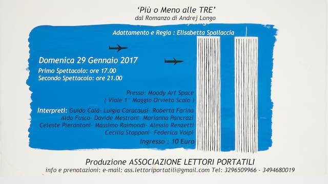 """""""Più o meno alle tre"""" con i Lettori Portatili. Andrej Longo presenta """"L'altra madre"""""""