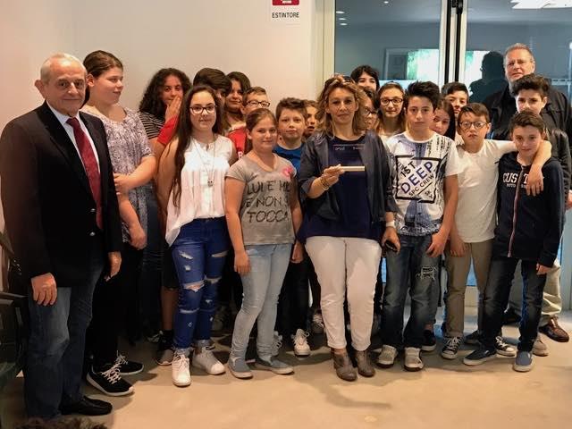 """La scuola Giovanni XXIII di Fabro tra i premiati regionali del concorso """"Play Energy Enel"""""""