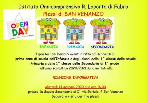 """Open Day all'Istituto """"Laporta"""". Riunione informativa e visita ai plessi"""