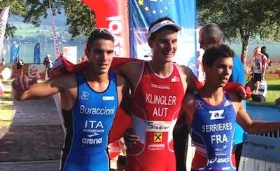 Alessio Buraccioni è bronzo junior negli europei di triathlon cross