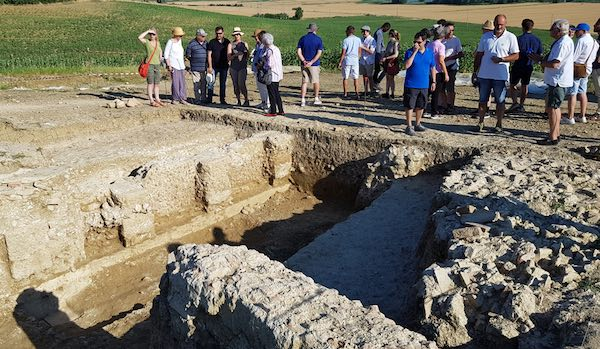 Terminata la quarta campagna di scavi della Villa Romana di Poggio Antico