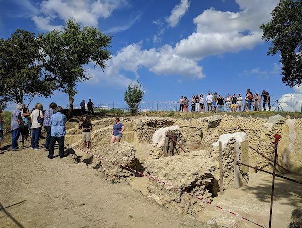 Due giorni per conoscere l'area archeologica di Poggio Gramignano