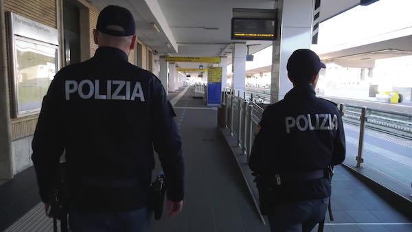 Controlli della Polfer nelle stazioni di Umbria, Marche e Abruzzo