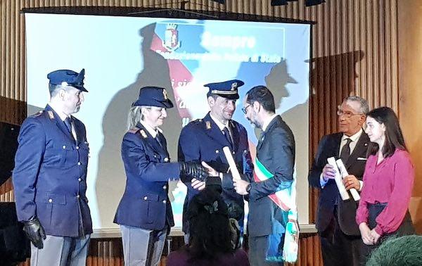 Celebrato a Palazzo Gazzoli il 167esimo Anniversario della Polizia
