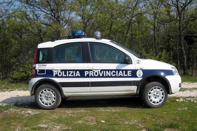 Ecotrail, la polizia provinciale evita disagi. Il plauso del presidente Lattanzi
