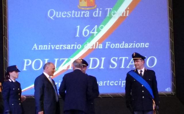 Polizia in festa per il 164esimo anniversario della fondazione. Tutti i premiati