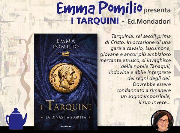 """A """"Libri Parlanti"""", Emma Pomilio presenta """"I Tarquini"""""""
