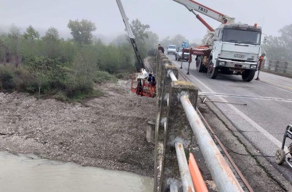 Chiuso un tratto della Strada Provinciale 31 per ultimare i lavori sul ponte